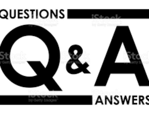 September 2021 Q & A